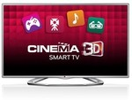 """LG 55"""" 55LA6230 3D Full HD LED LCD Smart TV - NEW with 1Yr WARRANTY $1,592 Delivered"""