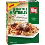 On The Menu - Spagheti & Meatballs 260g & Varieties $2 ea (Save $1.21) @ Woolworths