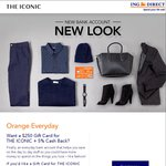 $250 Gift Card for THE ICONIC for 20,000 New ING Direct Orange Everyday Customers
