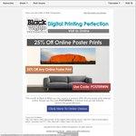Black & White Photographics - 25% off Any Online Poster Print - Free Pickup Stepney SA