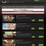 Microsoft Studios Weekend Sale on Steam up to 80% off