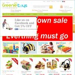 Greenie Toys - Closing down Sale - World Popular Educational Toys up to 60% off