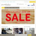 Purebaby - Sale on Many Items and a Further 20% off Site Wide Applied at Checkout