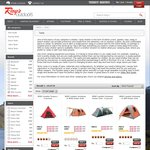 Rays Outdoors All Wild Country Tents 50% off for Reward Members