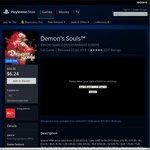 PS Store Demon's Souls PS3 $6.24