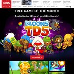 [iOS] IGN Free Game of The Month: Bloons Tower Defense 5 (Save $3.79/$6.49)