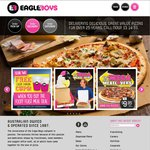 Eagle Boys: 3 Large Pizzas from $16* Pickup