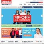 40% off All Stubbies Schoolwear Clothing