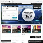 Air New Zealand - Melbourne to New York $1404 Return