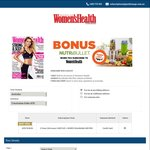 24 Month Subscription to Women's Health Mag with Free 900watt NutriBullet $138 @ Subscribe Today