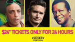 Melbourne Comedy Festival - $24 Tickets for Dave Hughes/Tom Green/Stephen K Amos + More via Ticketek