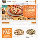 Pizza Capers $10 off Next Order (Min. Spend $24.95)