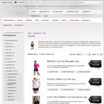 Ladies Clothing Tops Clearance Sale - All under $15, Free Shipping over $50 @ Envious Fashions
