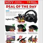 Razer Blackwidow Ultimate 2016 Stealth $135, Logitech G920 $314 @ MSY + Other Deals