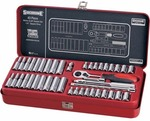 "Sidchrome Socket Set 1/4"" 43 Piece Metric and AF $69 inc Shipping (RRP $179.85) @ Supercheap Auto"