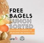 Free Bagel, Mon 5/9 @ Schmucks Bagels Docklands VIC or Mon 26/9 @ Schmucks Bagels CBD [Melbourne] -  Yelp Check-in Required