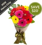 $19.95 Gerbera Bouquet (Save $20) + Delivery @Freshflowers.com.au, NSW Metro Only