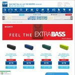 Sony SRSXB3 Extra Bass Wireless Speaker $178 Delivered from VideoPro