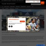 15% off @ Team Rhapsody Sports Wear // Free Ship over AUD $200
