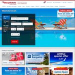 18% off Hotels (Prices in USD) @ Cheaptickets