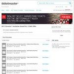 10% off Australian Grand Prix Grandstand tickets