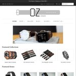 25% off Apple Watch Leather Collection @ OzStraps