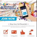 Receive a $20 Gift Card @ IRI Shopper Panel (after Free Sign-up and Scan The Products You Buy)