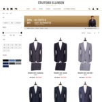Extra 25% OFF Suits | Suits from $149. Pure Merino Wool from $261 @Stafford Ellinson