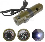 7 in 1 Outdoor Survival Tool Whistle Compass Thermometer LED Flashlight US $0.89 AU $1.22 Delivered from Zapals