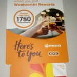 Join Woolworths Rewards and Get 1750 Bonus Points Xmas 2017