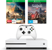 Xbox One S 500 GB Console + Halo Wars 2 Token + Assassins Creed Origins Token for $279 @ Big W