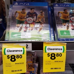 [VIC] PS4 FIFA 16 for $8.80 @ Woolworths Box Hill