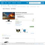 """Dell S2716DG 27"""" Monitor G-Sync TN Panel (2560x1440 144hz 1ms) $599.00 @ Dell Australia"""
