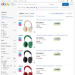 Parrot Zik 3 Wireless Headphones $152.30 Delivered @ Catch eBay