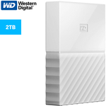 WD My Passport USB 3.0 2TB Portable Hard Drive - White $105 ($85 w/Discounted Gift Cards) @ Catch (Club Catch Required)