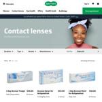 $10 off ($99 Minimum Spend) Contact Lenses @ Specsavers