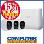 NetGear Arlo Pro 2 - 3 Cameras $755 + $15 Delivery (or Free Delivery with eBay Plus) @ Computer Alliance eBay