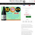 Dr. John's Willunga Shiraz (92pt James Halliday) for $118.80/Dozen (Normally $360) Delivered @ Skye Cellars