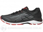 ASICS GT 2000 6 Men's Shoes Dark Grey/Black/Fiery Red $79.96 Delivered @ Running Warehouse