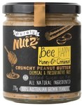 ½ Price Purely Nutz Peanut Butter Varieties 375gm $3.25 @ Coles