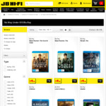 Blu-Ray Movies under $10 (e.g Taken 3, Bruce Lee Series, Bourne Series, X-Men Series & More) @ JB Hi-Fi (Online and in-Store)