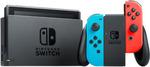 Nintendo Switch Neon Console $344.10 Delivered @ EB Games via eBay US