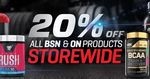 20% off Optimum & BSN (in-store) 13/10-15/10 @ Nutrition Warehouse