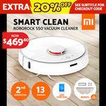 Xiaomi Mi Roborock S50 Robot Vacuum Cleaner 2nd Generation Australian Version $469.60 Delivered @ Ozplaza eBay