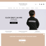 20% off Storewide (Kids Streetwear) Plus Free Domestic Shipping for Orders over $100 @ Tim & Gerrys
