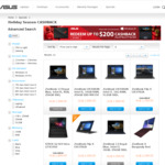 Get up to $200 Cash Back on Selected Notebooks from ASUS (When Purchasing from Authorized AU/NZ Retailers)