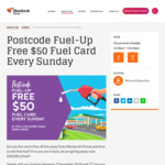 [WA] Get a Free $50 Fuel Card When You Visit Mandurah Forum, Sundays from 12-5pm if You Live More than 40km Away [First 75/Day]