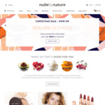 50% off Sitewide (Free Shipping Min Order $50, Excludes Sale and Limited Edition Kits) @ Nude by Nature
