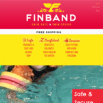 Now $24.95 (Over 50% off) Finband Kids Swimming Floaties + Free Shipping @ Finband
