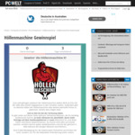 """Win The """"Hell Machine X"""" Gaming PC Worth €24,000 ($38,000) from PC World Germany (Postage Not Included)"""